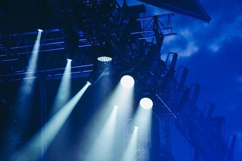 un projecteur à LED